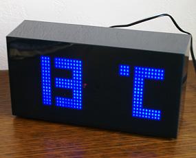 LEDセンサーアラームクロック