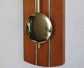 ドイツ AMS(アームス) 社製 木製振り子時計 5132-9(AMS5132-9)