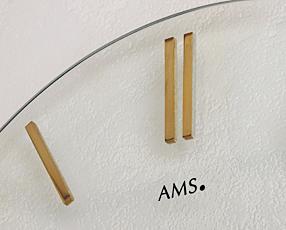 ドイツ AMS(アームス) 社製 掛け時計 9319(AMS9319)