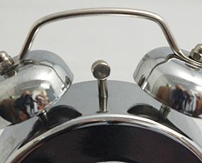 直輸入フランスデザイン、キュートな目覚し時計「マル」 (EC-REV303)