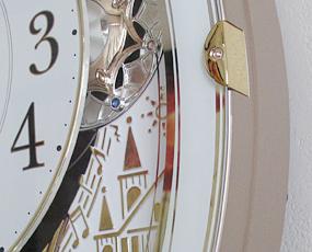 【 SALE在庫限り30%OFF 】CITIZEN シチズン 電波時計 からくり時計「スモールワールドノエル」 【動画あり】 (RY-4MN509RH03t)