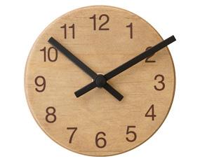 掛け時計 木製 おしゃれ 北欧 スイープムーブメント アルファベットクロック (IF-CL1694-5)