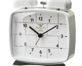 目覚し時計 アナログ ベルアラーム 寝室 置き時計 ルクリフ (IF-CL2546)