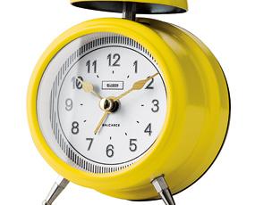 目覚し時計 アナログ アラーム リビング 置き時計 ベル音 ウォリカ (IF-CL2965)
