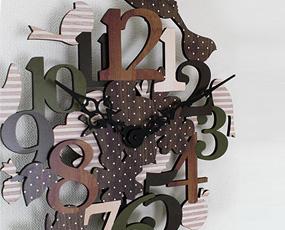 振り子時計 木製 ナチュラル 掛け時計 ステップムーブメント リアイエ (IF-CL9575)