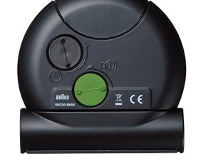 ブラウン(BRAUN) BNC001 目覚し時計 電波時計 アラーム モダン 小型 置き時計 ドイツ (KC-BNC001)