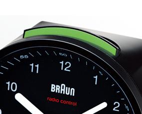 ブラウン(BRAUN) BNC007 目覚し時計 電波時計 アラーム モダン 小型 置き時計 ドイツ (KC-BNC007)