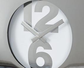 掛け時計 アナログ メタル おしゃれ シンプル リビング TELR1020 (SP-1020)