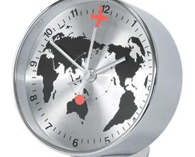 置き時計 アラーム スイープムーブメント おしゃれ (SP-1090)