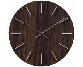 掛け時計 木製 スイープムーブメント 30cm 北欧 おしゃれ TELR1801 (SP-1801)