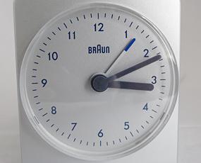 ブラウン BRAUN 目覚し時計 ワールドタイム AB320 トラベル バックライト (YM-AB320)