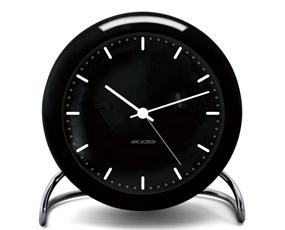 アルネ ヤコブセン(ARNE JACOBSEN) 置き時計 目覚まし時計 デンマーク 北欧 ローゼンダール 置時計 デザイン おしゃれ