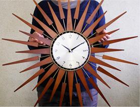 掛け時計 太陽時計「SUNBURST」