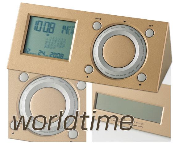 ワールドタイムソーラー時計