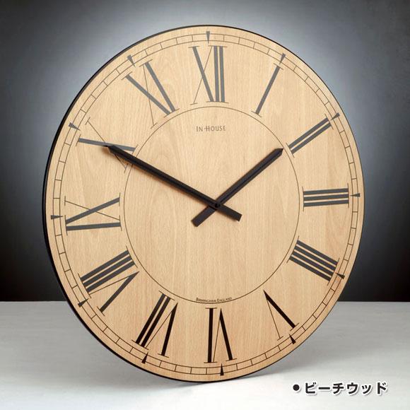 インハウス/INHOUSE 掛け時計「STATION」