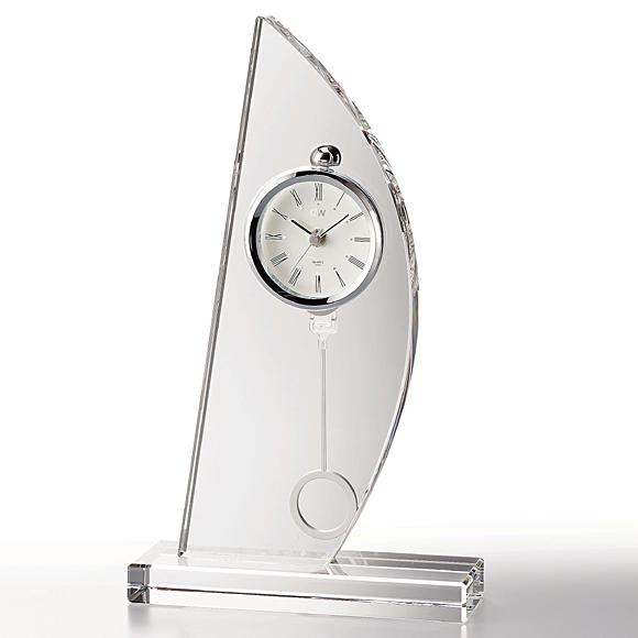 ガラス 時計「スピンネーカー」