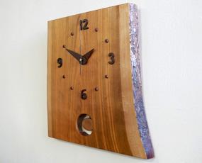 森の時計「桜の振り子時計」