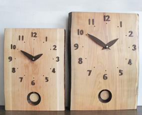 山の時計「桜の振り子時計・小」35×27 (IS-SAKURFURUS)