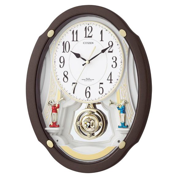 【特価2割引】シチズン 振り子時計 パルミューズドリーム(4MN505-006)