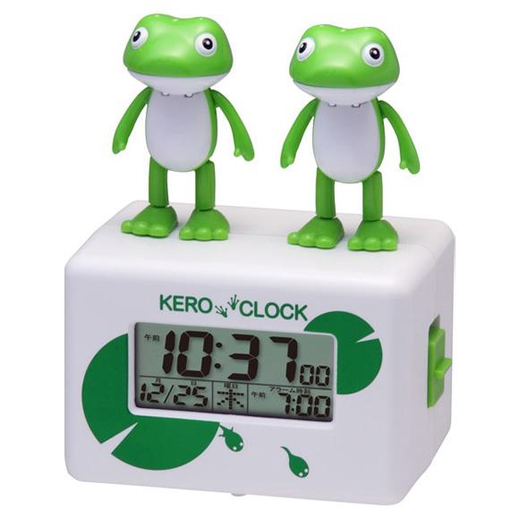 【特価2割引】シチズン 目覚まし時計 ケロクロック2(8RDA46RH03)
