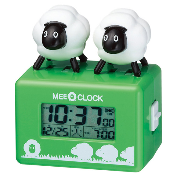 【特価2割引】シチズン 目覚まし時計 メェークロック(8RDA49RH05)