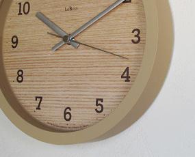 掛け時計「Le bois」日本製 (TL-PC11-20)