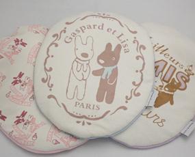 湯たんぽ [ドイツfashy製] キャラクター湯たんぽ リサとガスパール クッション ピンク 0.8リットル (SSa057)