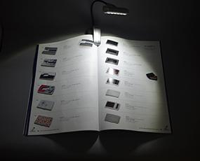 強力!6LEDブックライト「ハンマーヘッド」 (KC-448)