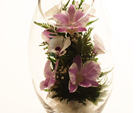 生花の美しさを閉じ込めた「クリスタル・フィオーレ(デュプレ)」