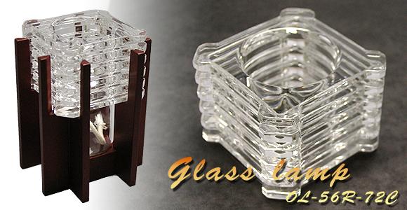 モザイクガラスランプ[OL-56R-72C]