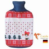 ファシー FASHY ドイツ製 ボトル使用 湯たんぽ くま くまのがっこう ノルディック 2リットル (SSf008)   【 送料無料 】