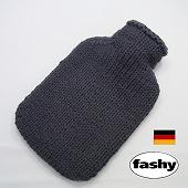 ファシー FASHY 湯たんぽ ドイツ製 2リットル ニットセーター グレー(SSa076GY)