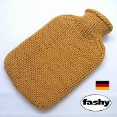 ファシー FASHY 湯たんぽ ドイツ製 2リットル ニットセーター サンド  (SSa076SD)