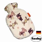 湯たんぽ(ゆたんぽ) ドイツ fashy ファシー社製  スモール湯たんぽ ジャンピングラビット (SS6507)
