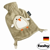 湯たんぽ [ドイツfashy製] スモール湯たんぽ チャイルドペンギン 0.8リットル (SSa028)