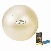 GYMNIC ギムニク イタリア製 バランスボール バランスボール・パワーゴルフセット55(ボール、ビデオ、解説書、ハンドポンプ) (GYpgs55)